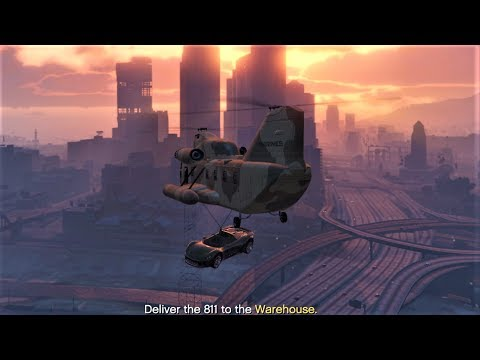 E178Pt3 HOW TO CARGOBOB CEO CAR SOURCING MISSIONS! - Let's Play GTA 5 Online PC 60fps HD