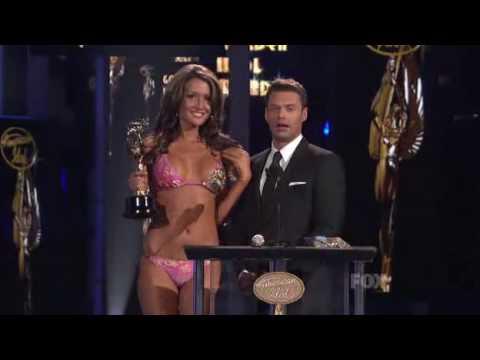 Bikini Girl (Katrina Darrell) vs Kara DioGuardi (Best Attitude Award) (HD)
