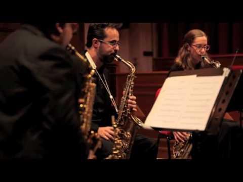 Blue Monk - Open Saxophone Quartet