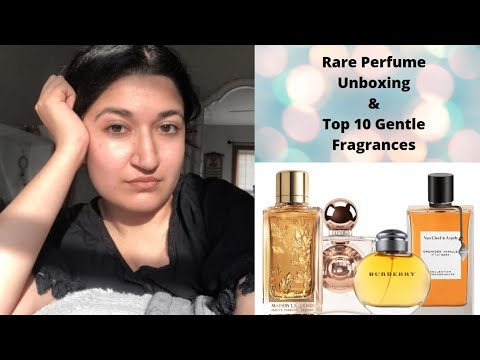 *RARE* Perfume Unboxing | TOP 10 Therapeutic Fragrances | Perfume Collection 2020