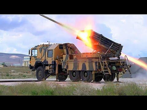 Türk Ordusuna Saldıran Rejim Güçleri ÇNRA Ve Fırtına Obüslerinin Yoğun Ateş Gücü Altında Kaldı | TSK
