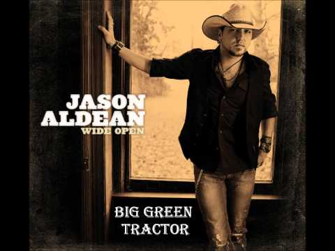 Big Green Tractor by Jason Aldean (Album Cover) (HD)