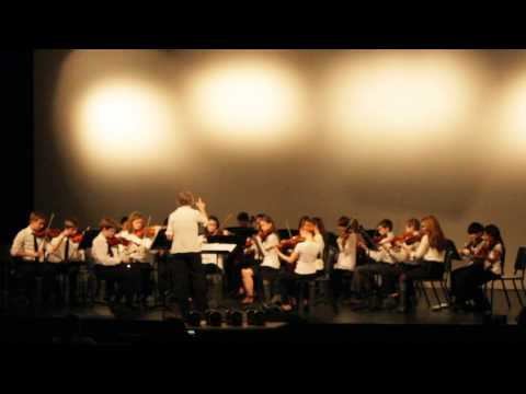 Alla Tchaikovsky Blair School of Music Youth String Orchestra