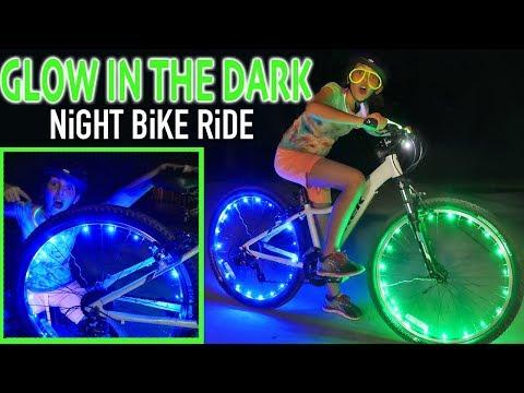 glow-in-the-dark-night-bike-ride-|-best-bike-wheel-lights-|-kids-crafts