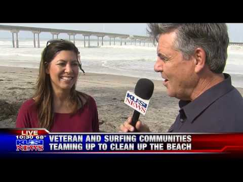 One More Wave Beach Cleanup as seen on KUSI & Good Morning San Diego