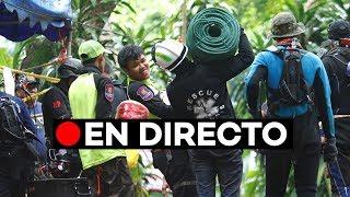 En directo: Tercer día de rescate de los niños perdidos en una cueva en Tailandia