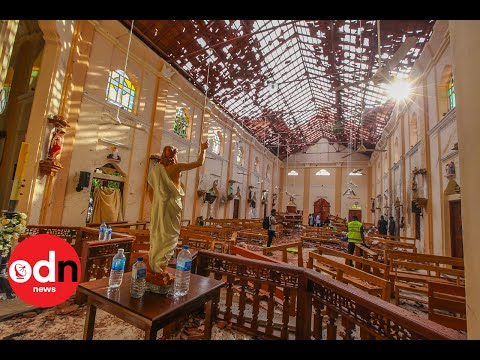 Sri Lanka terror attacks leave at least 100 people dead