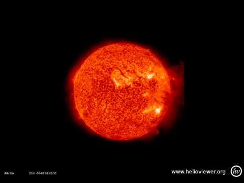 פיצוץ בשמש