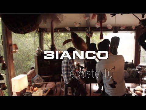 Bianco - Llegaste Tú [Versión Acústica] (Letra)