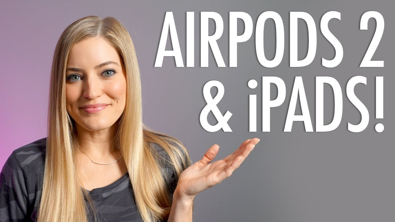 f04d1ea153d OMG! New AirPods 2, iPads, and Apple Watch Bands!!!!! - YouTube
