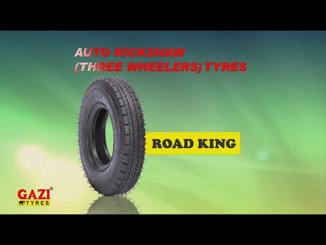 GAZI Three Wheeler Tyres