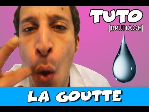 bruitage goutte deau