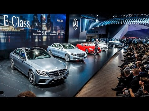 All new models from Mercedes at the 2016 North American International Auto Show