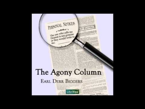 The Agony Column audiobook - part 1
