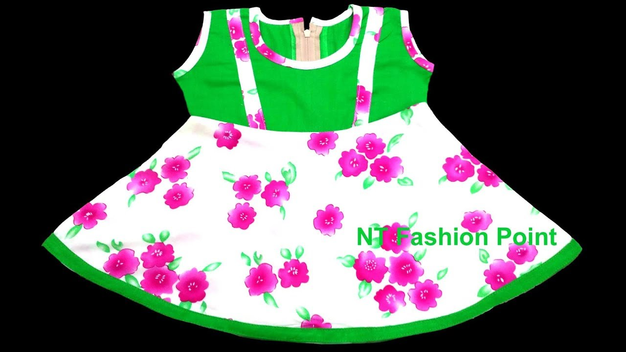 ef87e0f731af Simple baby dress cutting and stitching