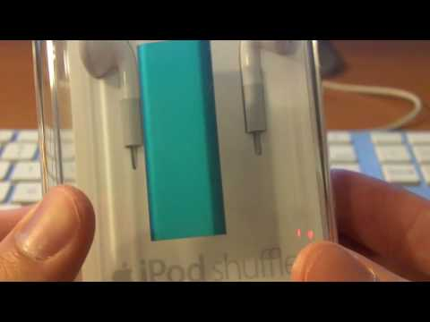 Unboxing: iPod shuffle (3rd Generation)