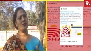 India Stands By #AadhaarLeaksJournalist