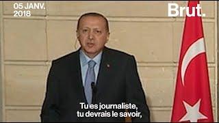 La réponse sèche du président turc Erdogan à un journaliste français.mp3