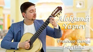 "Aleksandr Yasnev plays ""Lagrima""  by Francisco Tarrega"