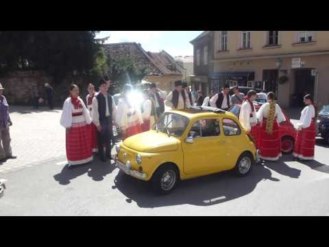 60 years anniversary of FIAT 500, celebration in Zagreb
