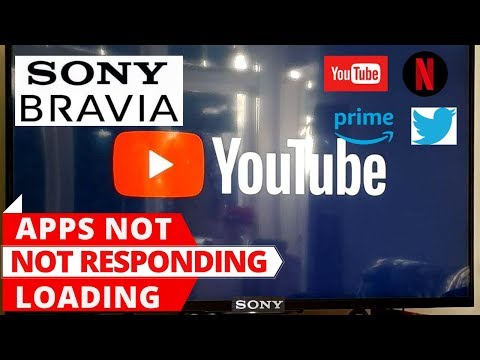 How To Fix SONY Smart TV Apps Not Working || Sony Android TV Apps Not Loading
