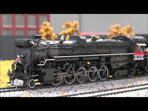 Review: Broadway Limited T&P 2-10-4, #610, Brass Hybrid, Freedom Train, Paragon 3 DCC HO BLI