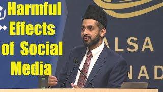 Responsible use of Internet & Social media - Maulana Farhan Iqbal Sahib Jalsa Canada 2017 Day3