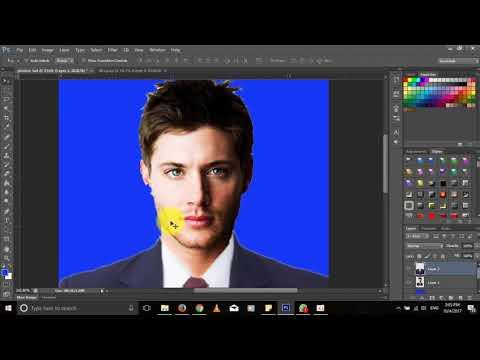 How to make photos 3x4 (วิธีทำรูปติดบัตร) ວິທີເຮັດຮູບຕິດບັດ 3x4