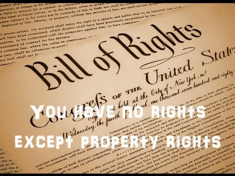 the Georgia Freeman - you have no rights except property rights!