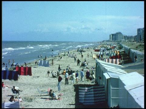 Belgische stranden (beaches) 1967 Zeebrugge Oostende