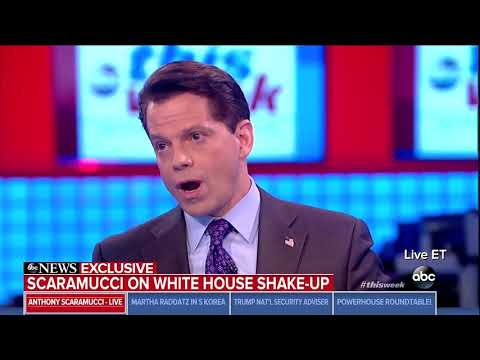 Scaramucci: Elements in Washington and the White House are trying to eject Trump
