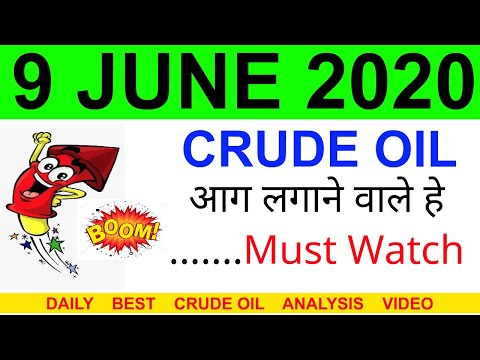 Crude oil complete analysis for 9 JUNE 2020 | crude oil strategy | intraday strategy for crude oil