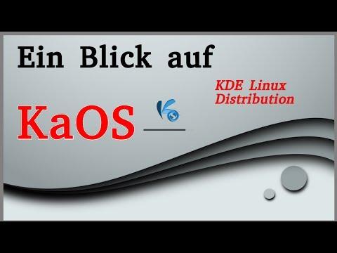 Ein Blick auf KaOS - eine Linux KDE Distribution