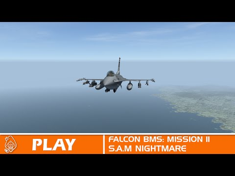 Falcon BMS: Mission 11 Surface To Air Missile Hell