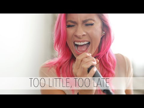 JoJo - Too Little, Too Late (Andie Case Cover)
