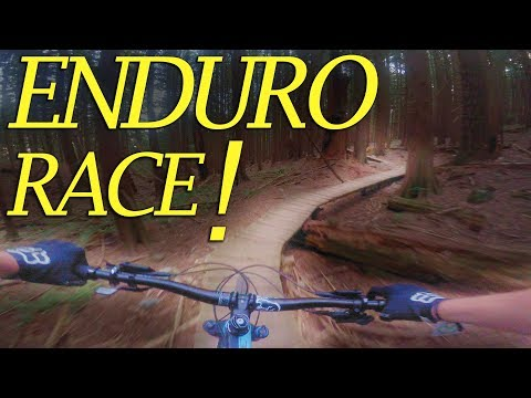 ENDURO RACE! // Fiver Series #5 On Mt. Fromme // North Shore, Vancouver
