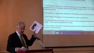 Bill Samuels Speaking at the Nelson Rockefeller Institute