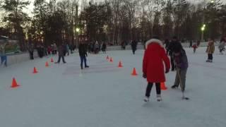 Каток 2016 - 2017 в парке г.Николаевска-на-Амуре