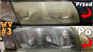 """Odnawianie reflektorów samochodowych!  JAK MI POSZŁO?!  """"Warsztatowy VLOG"""" #3✔ MafiaSolecTeam"""