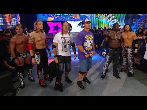 Team WWE reveals their final team member before battling The Nexus at SummerSlam 2010 on WWE Network