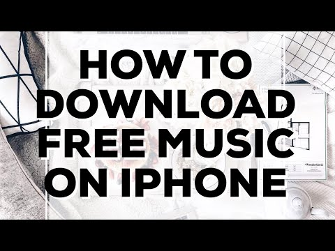 How To Download Free Music On An IPhone / IOS [TUTORIAL] 100% Free