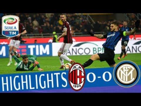 Download Milan - Inter 0-0 - Highlights - Giornata 27 - Serie A TIM 2017/18