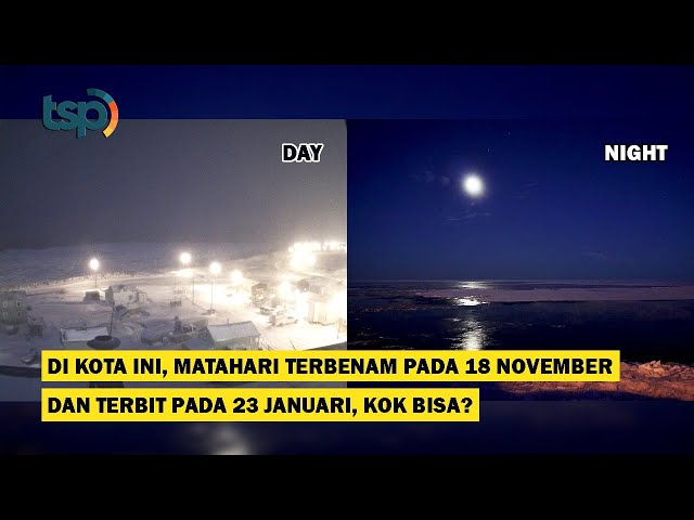 [ENG SUB] In this City, the Sun Sets on the 18th of November and Rises on the 23rd of January