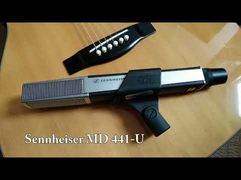 Dynamic mic comparison 2: MD421, MD441, M88, M201, M160