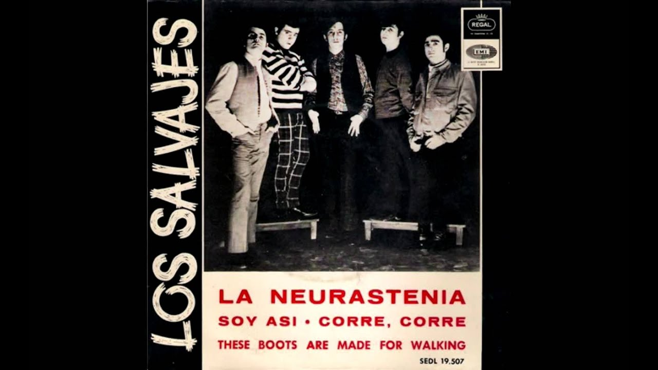 Los Salvajes These Boots Are Made For Walking Nancy Sinatra Cover