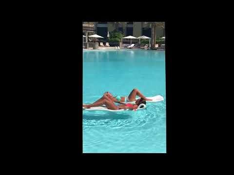 Pooltime in Dubai...