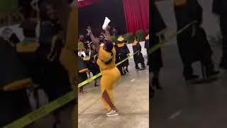 Mom TWERK AT SON GRADUATION! SMH????