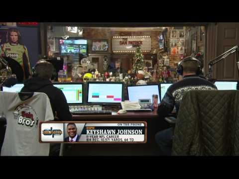 Keyshawn Johnson on The Dan Patrick Show (Full Interview) 12/22/2014