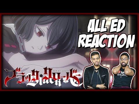 BLACK CLOVER ED 1-10 (All Endings) REACTION