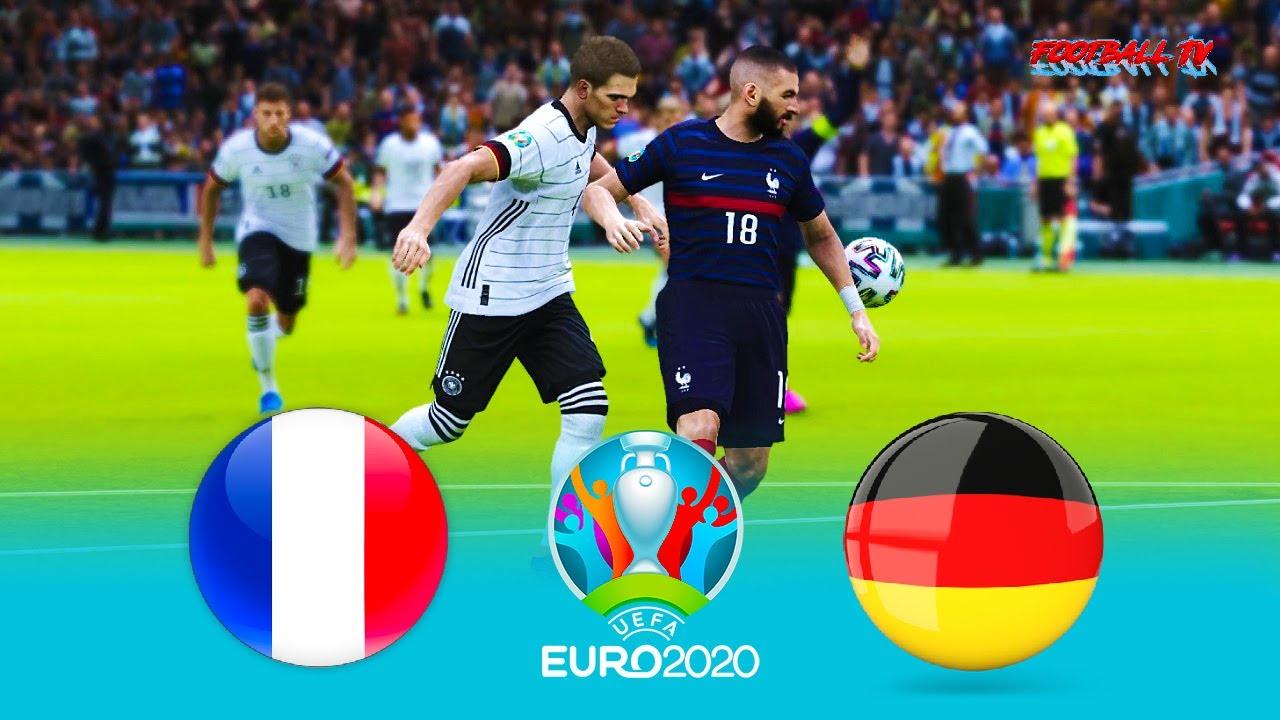 PES 2021 - FRANCE vs GERMANY - UEFA EURO 2020
